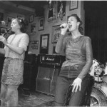 Zoe singing and Iona plays the clarinet. Live in Tottenham.